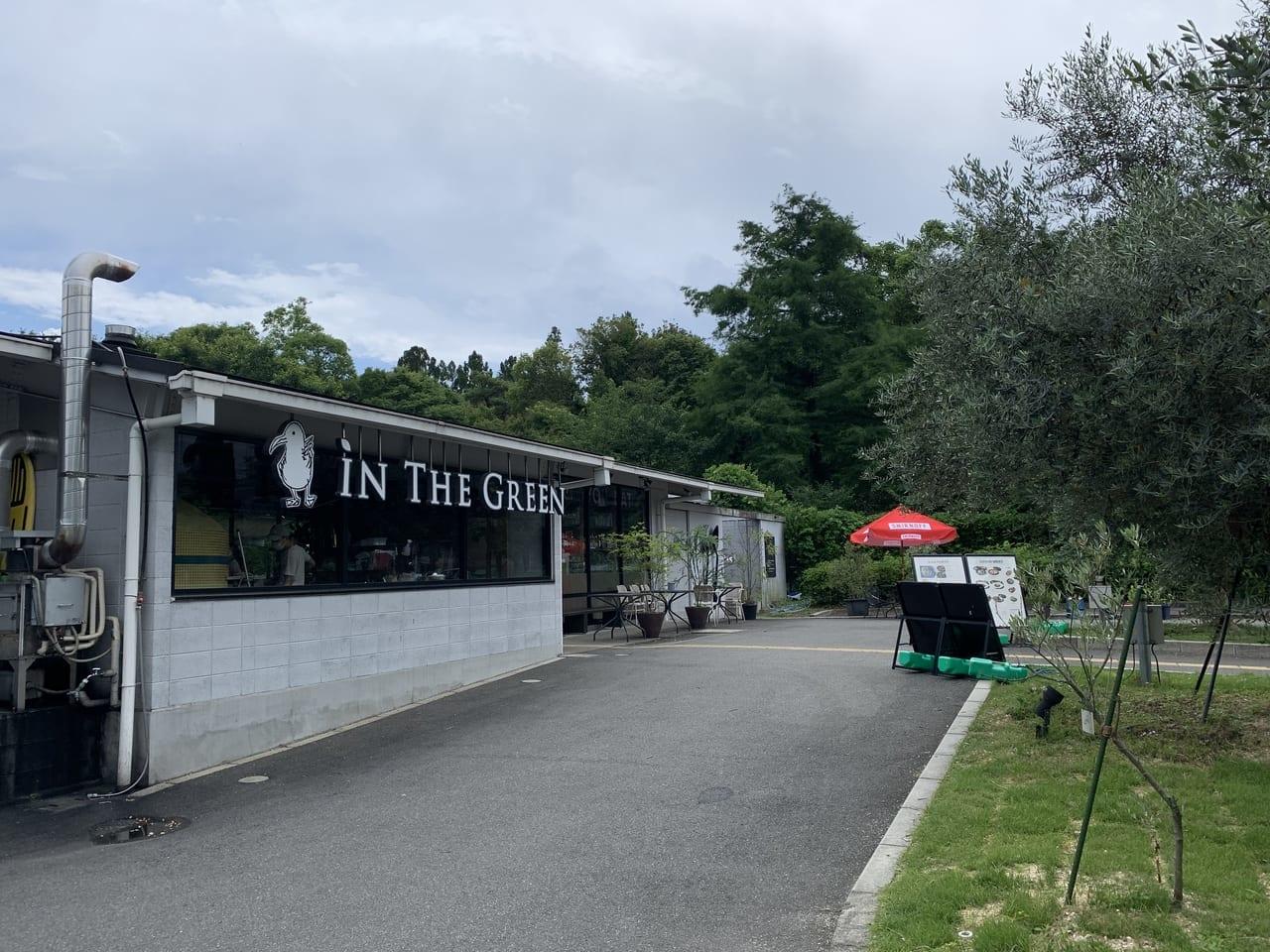 京都府立植物園に隣接するカフェin The Green